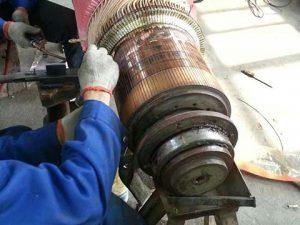 直流电机转子维修