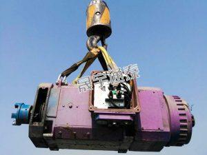 大型电机吊装